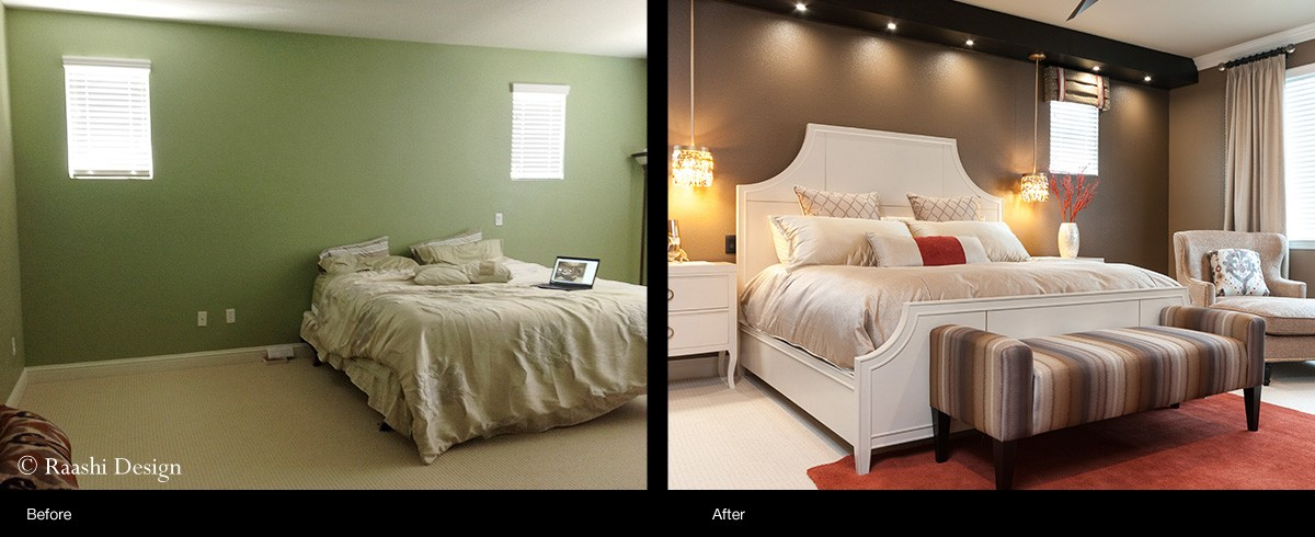 master bedroom interior designer makeover raashi design living room interior design before after