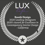 Lux 2020 Leading Designers - Raashi Design